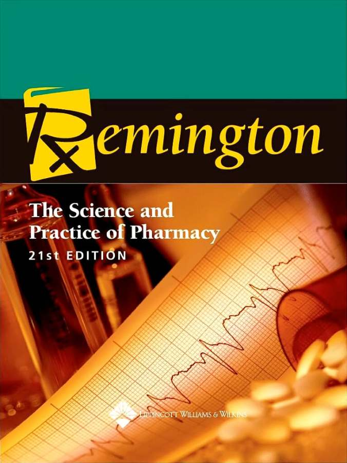 Remington:the science and practice of pharmacy 22nd ed book+ 1.
